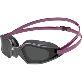 speedo Hydropulse Goggles deep plum/navy/smoke